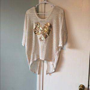 Tops - Light weight cream sweater